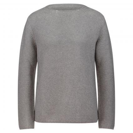 Strickpullover aus Baumwolle grau (917 middle stone mel) | L