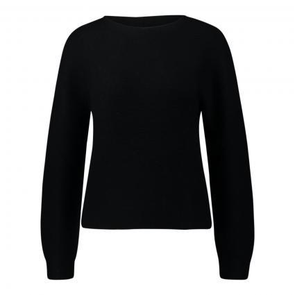 Pullover mit Rundhalsausschnitt schwarz (990 black) | XS