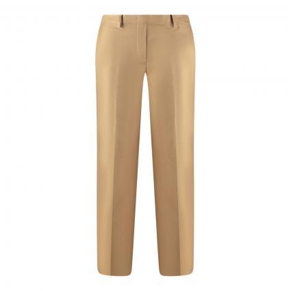 Hose mit elastischem Bund und weitem Bein beige (735 sandy beach) | 44