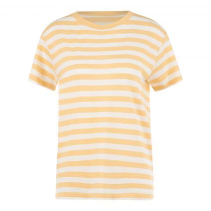 T-Shirt mit Streifenmuster  ecru (L51 multi/vanilla) | M