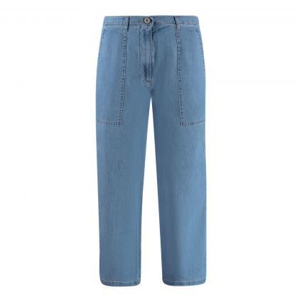 Jeans mit weitem Bein blau (081 flash blue) | 40
