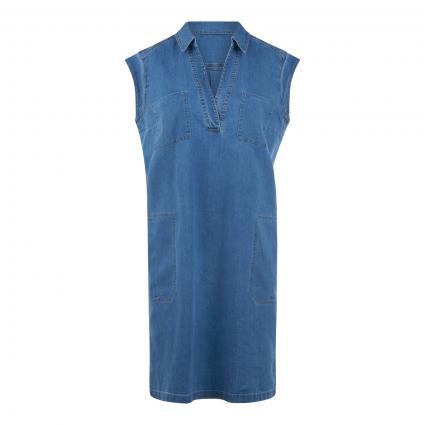 Jeanskleid aus Bio-Baumwolle  blau (081 flash blue)   40