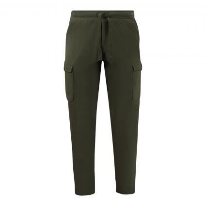 Sweatpants im Cargo-Stil grün (428 burnt leaf) | XXL