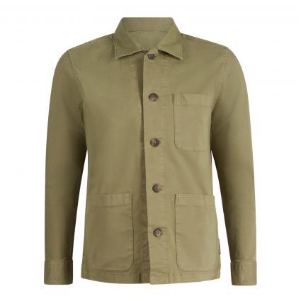 Overshirt mit Einschubtaschen grün (421 avery fern)   S