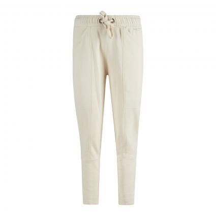 Sweat pants mit Einbundtaschen beige (159 chalky sand) | XS