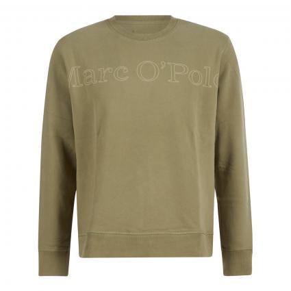 Sweatshirt mit Logo-Print grün (421 avery fern) | S