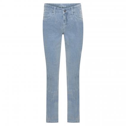 Regular-Fit Cordhose 'Pina' blau (422 antique blue)   42   30