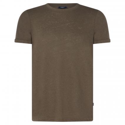 T-Shirt 'Linaro' mit Rundhalsausschnitt grün (314 Medium Green) | M