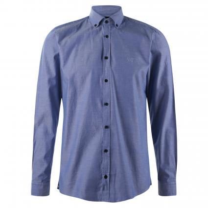 Hemd 'Haven' mit Button-Down Kragen  marine (405 Dark Blue) | L
