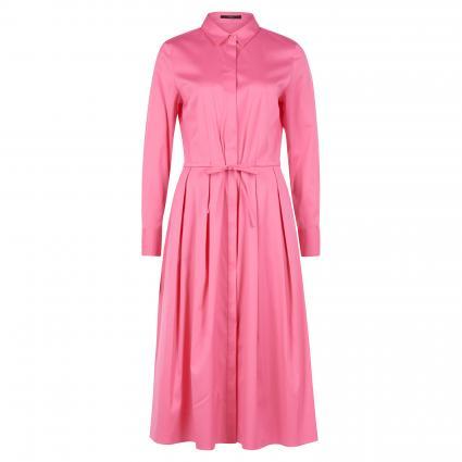 Hemdblusenkleid mit langen Arm rose (676 Bright Pink) | 44