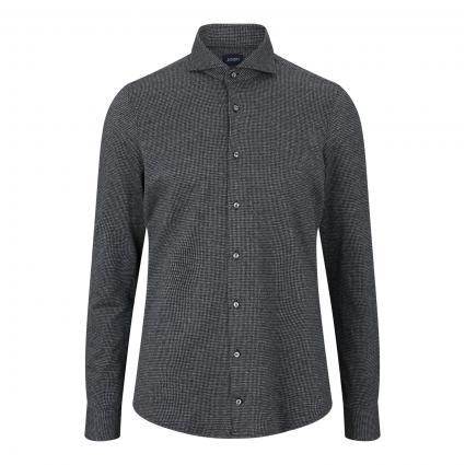 Slim-Fit Hemd 'Pejos-J' mit Musterung schwarz (001 Black) | 43