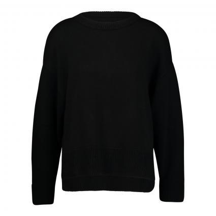 Boxy Pullover schwarz (001 Black) | 36