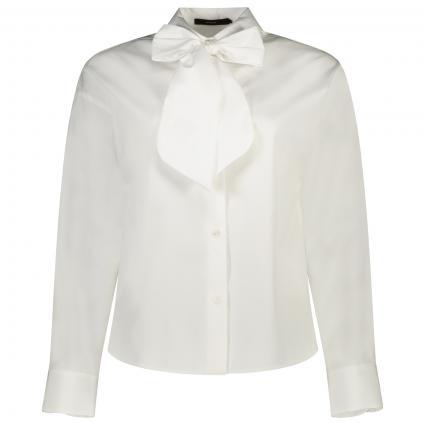 Bluse mit Schleife zum Binden weiss (100 White)   42