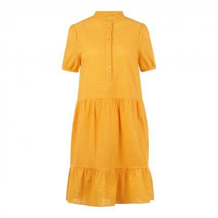Kleid 'Delayla' aus Häkelspitze  gold (709 Dark Yellow)   40