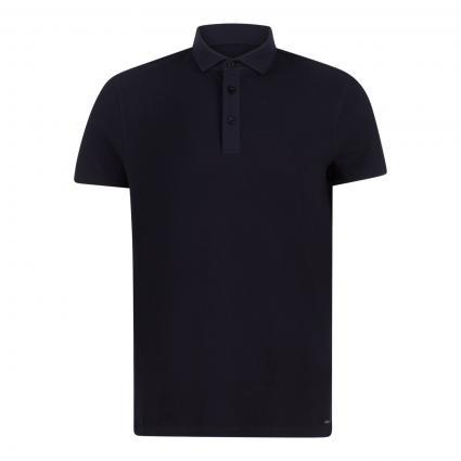Poloshirt 'Fisher' marine (401 Dark Blue)   S