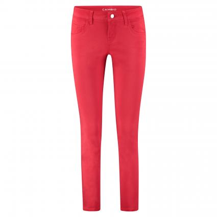 Slim-Fit Hose 'Liu' rot (156 chilly red) | 32 | 30