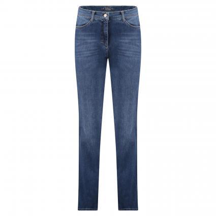 Comfort-Fit Jeans 'Carola' blau (25 USED REGULAR BLUE) | 36