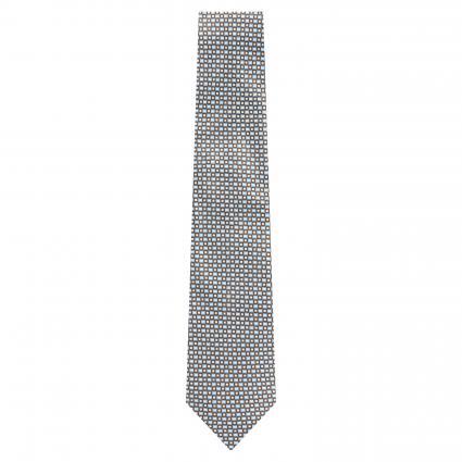 Cravate'Olona' en soie brun (7 braun) | 0