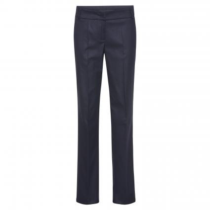 Weite Hose 'Glam' marine (498 deep night blue) | 34 | 34