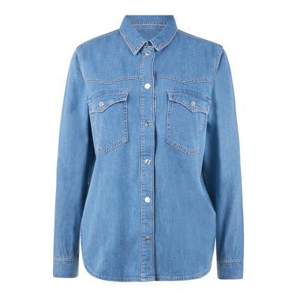 Jeansbluse 'Jenny' blau (32530 mid blue denim)   L