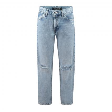 High-Rise Jeans 'Berlin'  blau (33232 ripped blue de) | 30 | 27