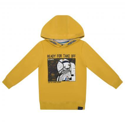 Sweatshirt mit Print  gelb (5453 YELLOW) | 128