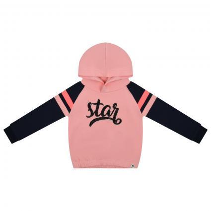 Sweatshirt mit Glitzer Details  rose (2862 PINK) | 116