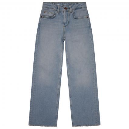 Jeans Hose mit weitem Beinverlauf blau (1625 BLUE)   152