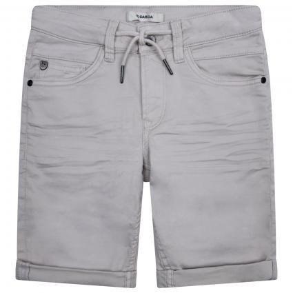 Bermuda-Jeans mit Zugband braun (9011 BROWN) | 158