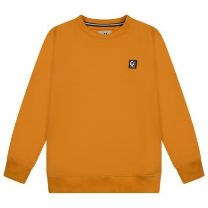 Sweatshirt mit Logo auf der Brust gelb (5101 YELLOW) | 140