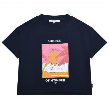 T-Shirt mit frontalem Print  marine (292 BLUE) | 152