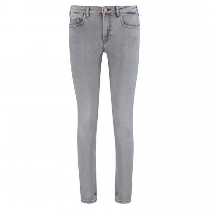 Skinny Jeans 'La Bohemienne' grau (1440 Grey Glory) | 30 | 30