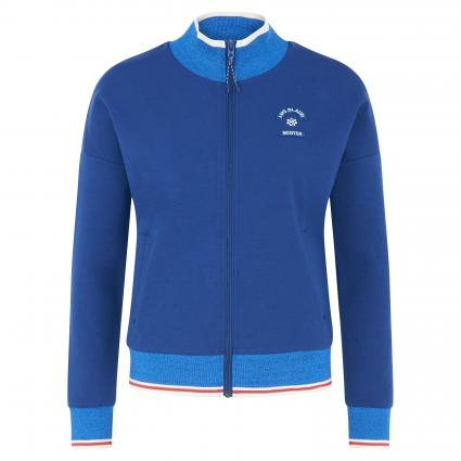 Sporty jacket in sweat quality divers (17 Combo A) | XS