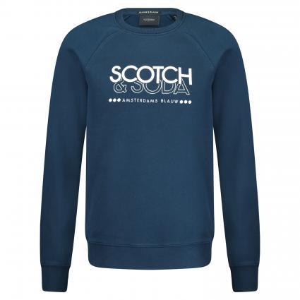Sweatshirt mit Logo-Print marine (0004 Navy) | L