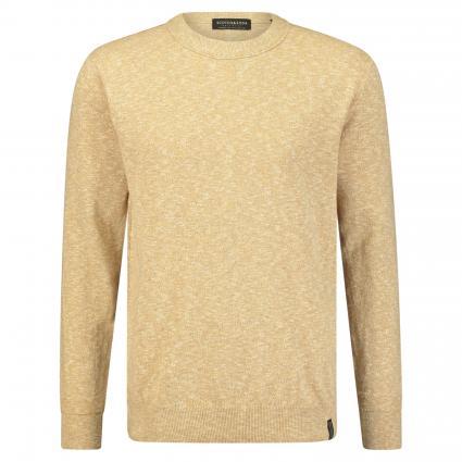 Pullover in melierter Optik beige (0137 Sand) | L