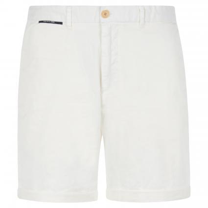Slim-Fit Short in Chino-Optik weiss (0102 Denim White) | 36