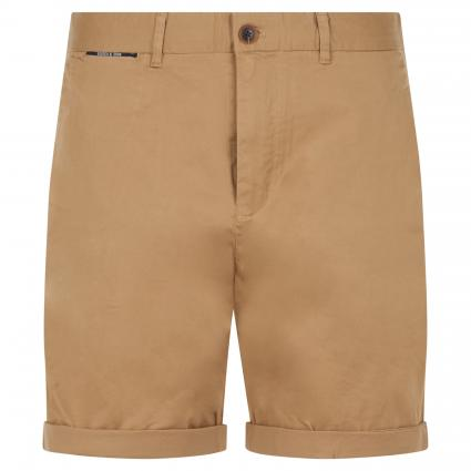 Slim-Fit Short in Chino-Optik beige (0137 Sand) | 34
