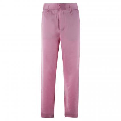 Weite-Hose in Glanz-Optik pink (3566 Pink Violet)   M