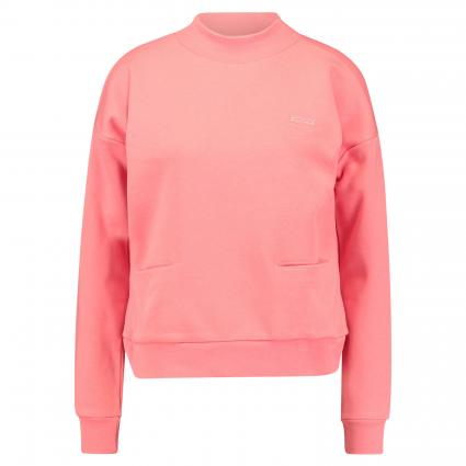 Sweatshirt mit Stehkragen orange (0406 Coral) | S