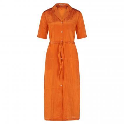 Midi-Hawaiian Shirt  orange (0446 Ginger)   S