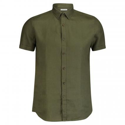 Regular-Fit Kurzarm Shirt oliv (511 Army Green) | M