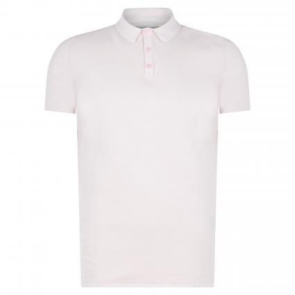 Polo-Shirt in Strickoptik rose (429 Lt. Pink) | XL