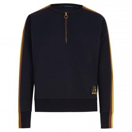 Sweatshirt mit seitlichen Streifen marine (0004 Navy) | M