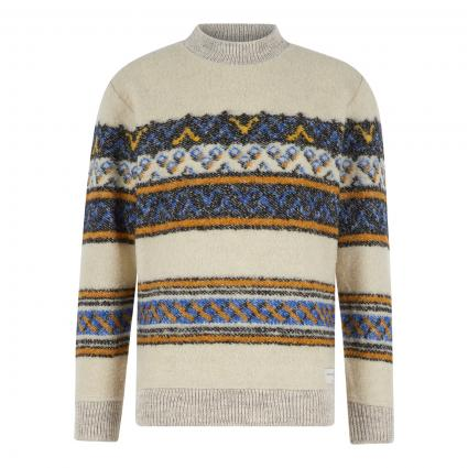 Strickpullover mit Musterung divers (0217 Combo A) | L