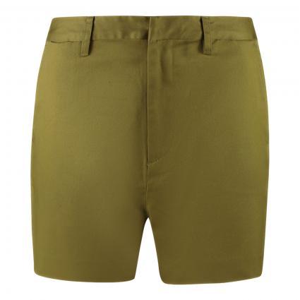 Chino-Shorts 'Abott' oliv (0115 Army) | 25