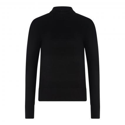 Pullover mit Rundhalsausschnitt schwarz (0008 Black) | L