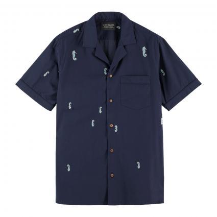 Kurzarm Hemd mit Musterung divers (0217 Combo A) | L