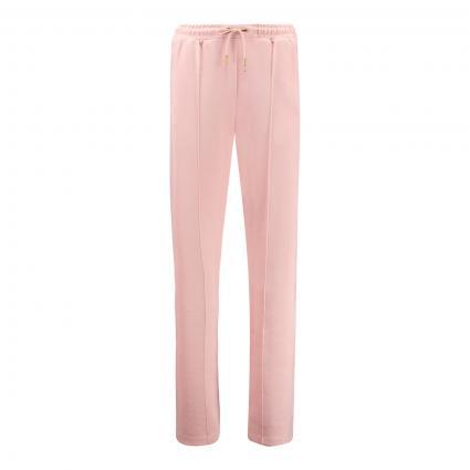 Sweatpants mit Bundfalte und elastischem Bund rose (0494 Dusty Rose) | L