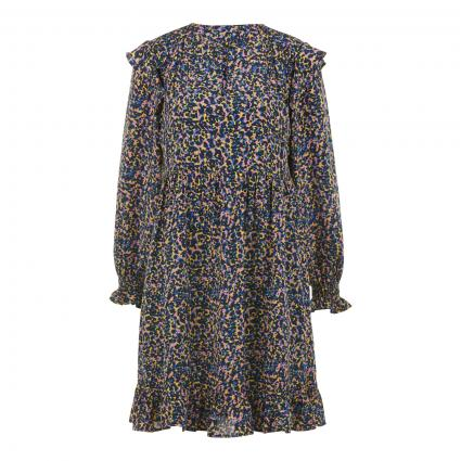 Kleid mit All-Over Muster divers (0219 Combo C) | S