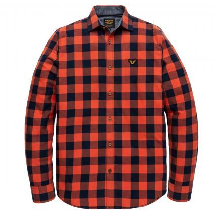 Regular-Fit Hemd mit Karomuster orange (2080 Burnt Ochre) | M